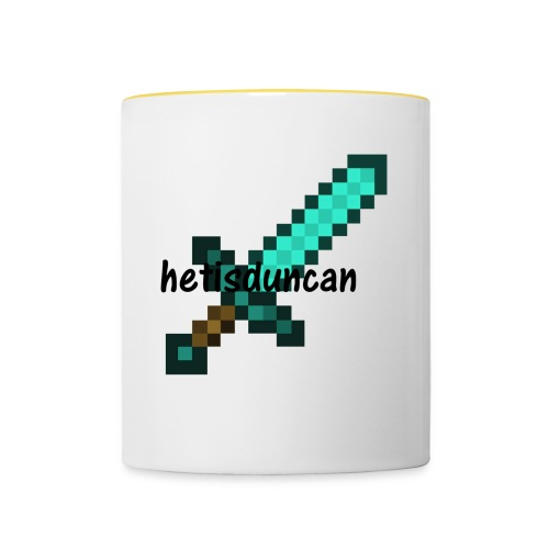 minecraft shirts - Mok tweekleurig