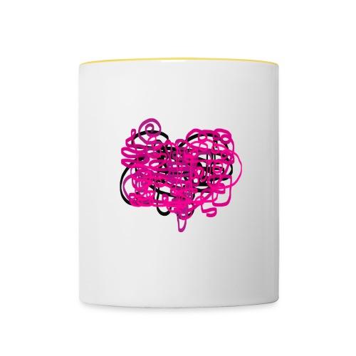 delicious pink - Contrasting Mug