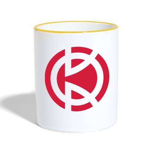 Kitbliss logo - Contrasting Mug