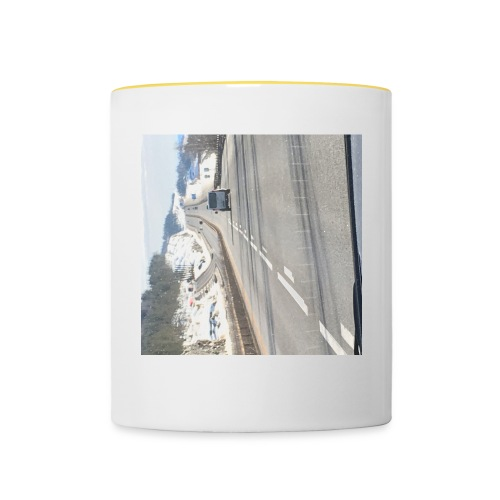 På veien - Tofarget kopp
