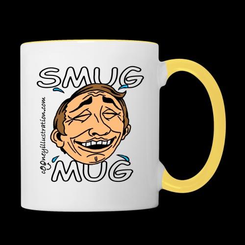 Smug Mug! - Contrasting Mug