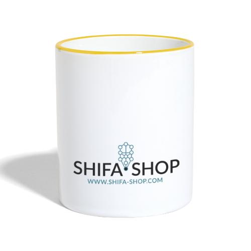 SHIFA SHOP LOGO - Taza en dos colores
