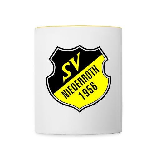 logo svniederroth jpg - Tasse zweifarbig