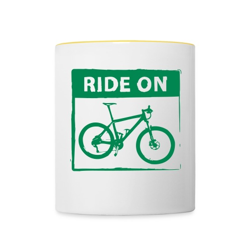 Ride On MTB 1 Color - Tasse zweifarbig