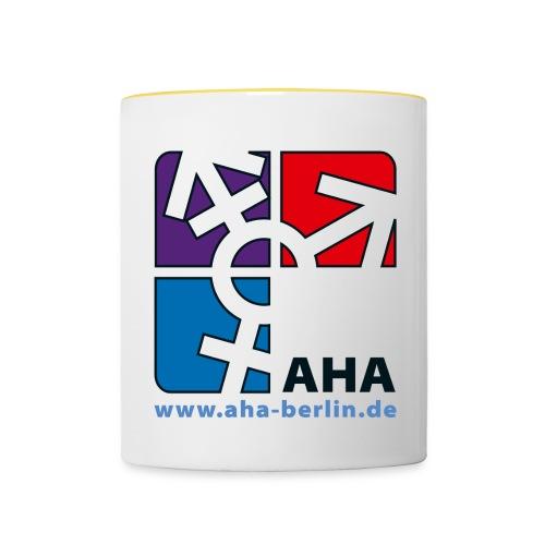 Logo groß - Tasse zweifarbig