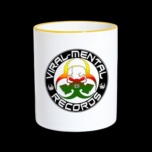 Viral Mental Records Logo - Contrasting Mug