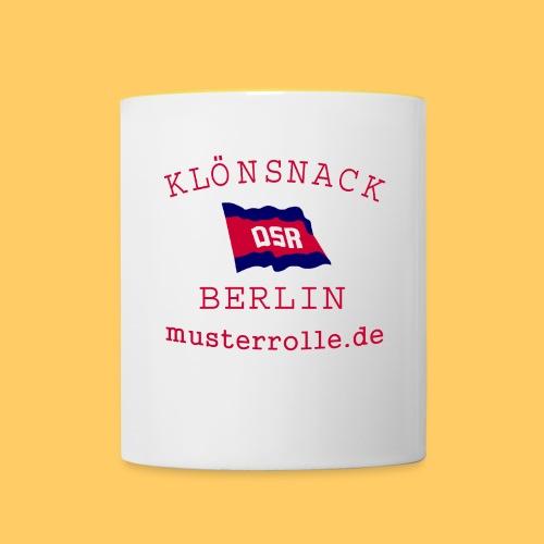KiB-Logo-gif - Tasse zweifarbig