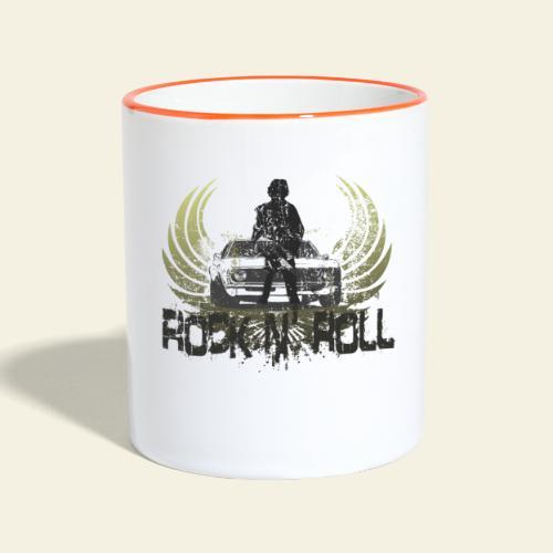 rock n roll camaro - Tofarvet krus