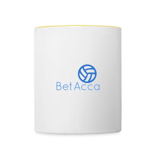 BetAcca Logo - Contrasting Mug