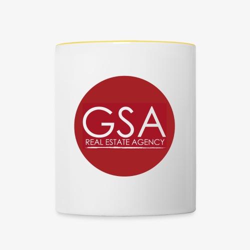GSA RE Agency red - Tazze bicolor
