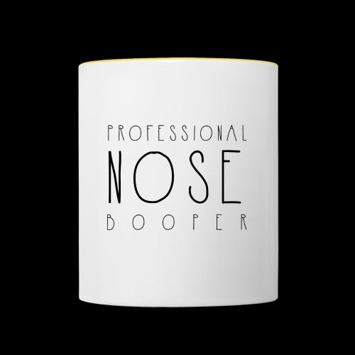 Professional Nose Booper - Contrasting Mug