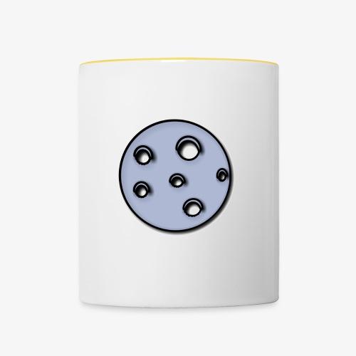 Mond - Tasse zweifarbig