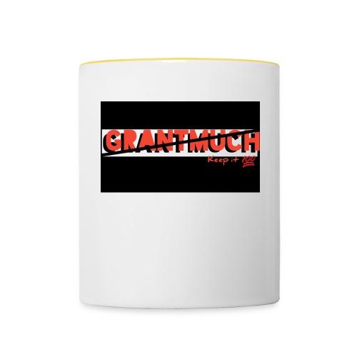 GrantMuchMerch - Contrasting Mug