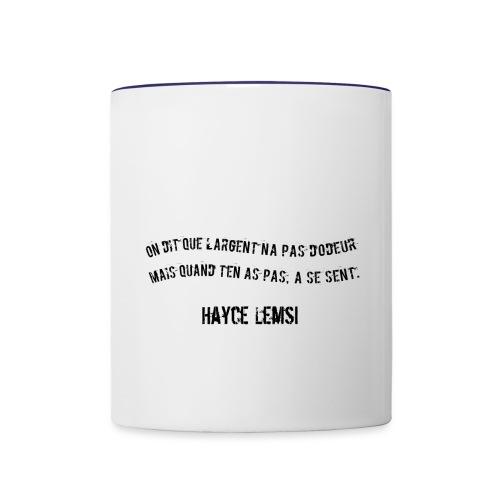 Punchline de Hayce lemsi - Mug contrasté