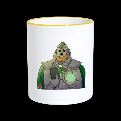 Elliot the Necron! - Contrasting Mug