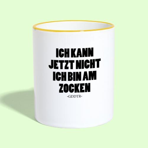 Kann jetzt nicht - Tasse zweifarbig