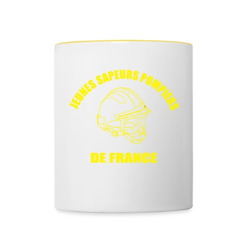 Jeunes Sapeurs Pompiers de France - Mug contrasté