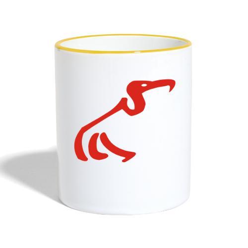 mwt - Tasse zweifarbig