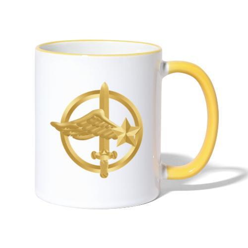 Tasse Fusiliers Commandos de l'Air - Mug contrasté
