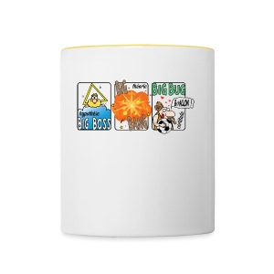 big boss big bang big bug - Tasse bicolore