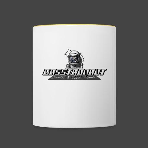 Bassphemie - Basstronaut Logo - Tasse zweifarbig