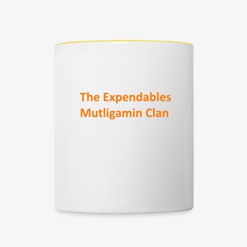 The Expendables Multigaming Clan Schriftzug - Tasse zweifarbig