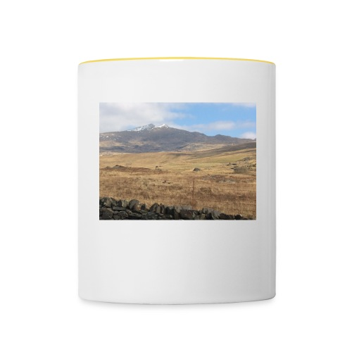 snowdon - Contrasting Mug