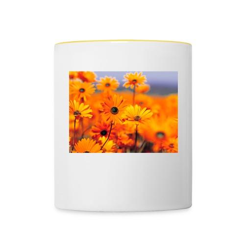 Flower Power - Contrasting Mug