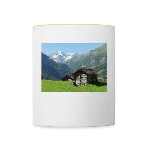 Mountain - Tasse zweifarbig