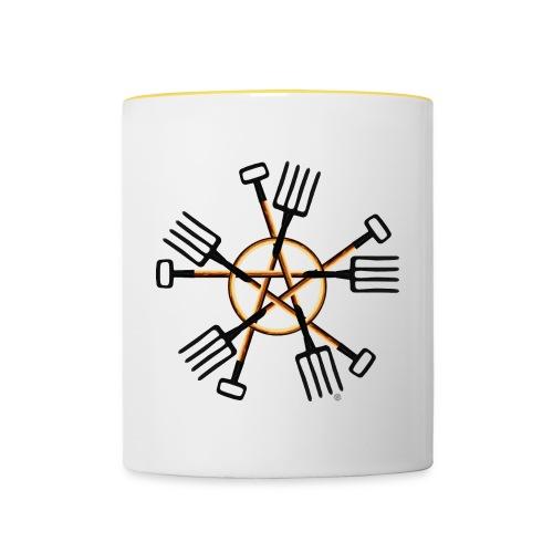PAGAN GARDENER - Contrasting Mug
