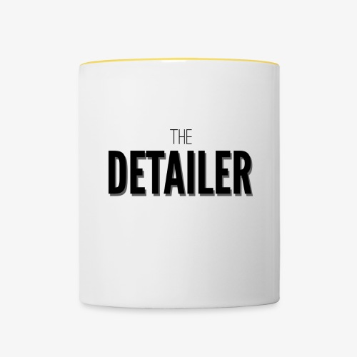 The Detailer Cup - Contrasting Mug