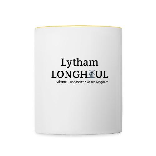 Lytham Longhaul Classic Logo - Contrasting Mug