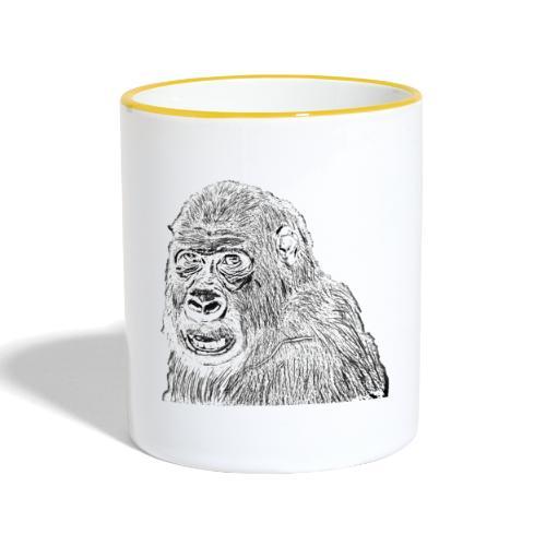 singe - Mug contrasté