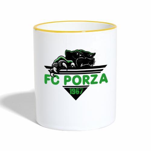 FC Porza 1 - Tasse zweifarbig