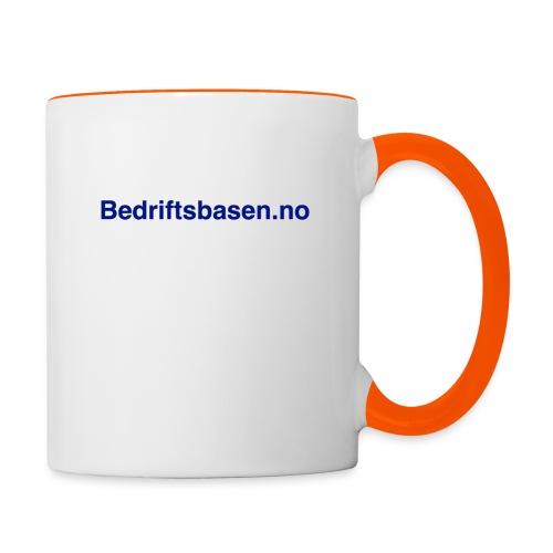 Bedriftsbasen.no logo - Tofarget kopp