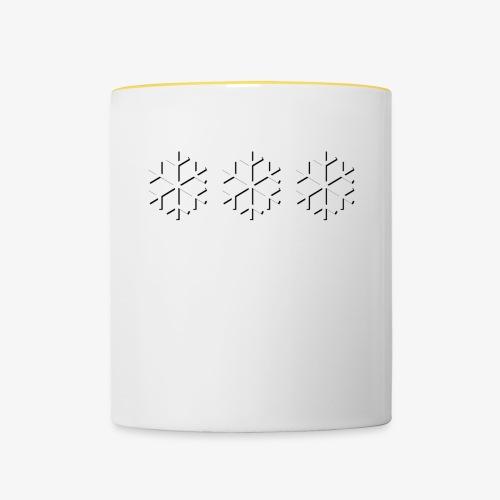 Calm yourself! (Logo Edition) - Contrasting Mug
