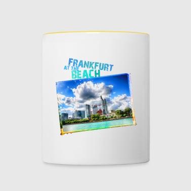 Frankfurt at the Beach - Contrasting Mug