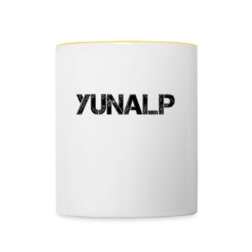 YunaLP Namenszug - Tasse zweifarbig