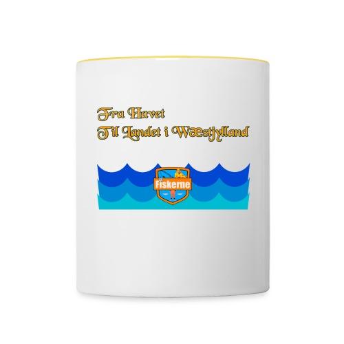 Fra Havet - Tofarvet krus