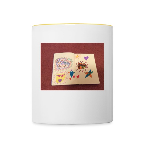 I am a Amster or Awesome Amy logo - Contrasting Mug