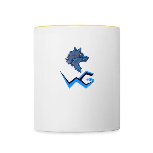 Voltiac Gaming logo! - Contrasting Mug
