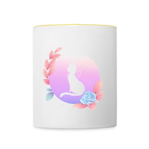 Neko - Tasse zweifarbig