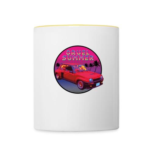 R5 Turbo vintage - Cruel Summer. Bananarama - Taza en dos colores
