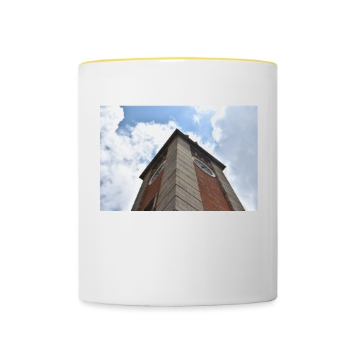 torre dell'orologio - Tazze bicolor