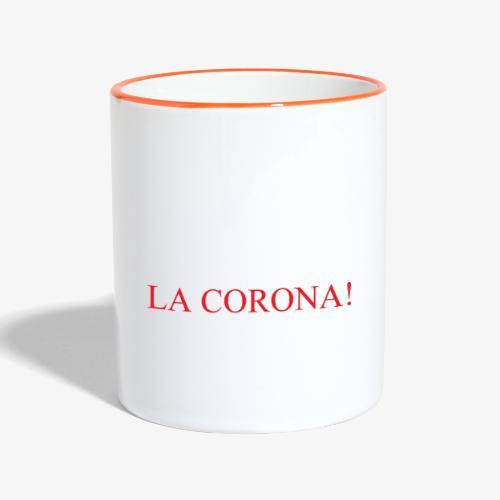 LA CORONA! - Tazze bicolor