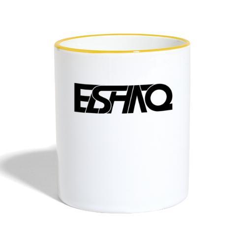 elshaq black - Contrasting Mug