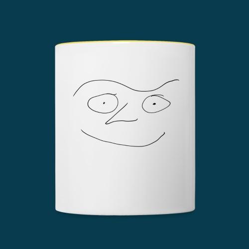 Chabisface Fast Happy - Tasse zweifarbig