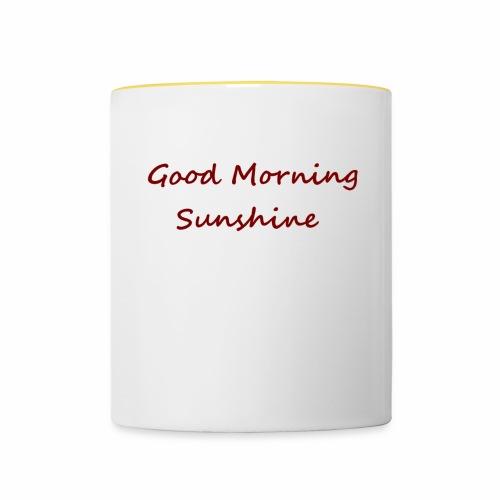 Good morning Sunshine - Mok tweekleurig
