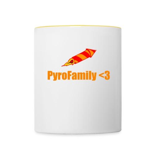 PyroFamily<3 - Tasse zweifarbig