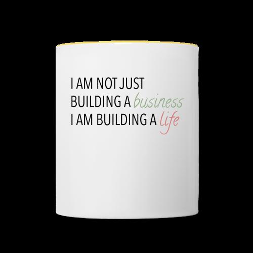 Bulding a business - Mok tweekleurig